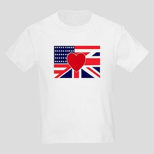 USA & UK Love Kids T-Shirt