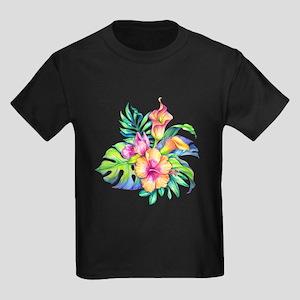 Tropical Flowers Bouquet T-Shirt