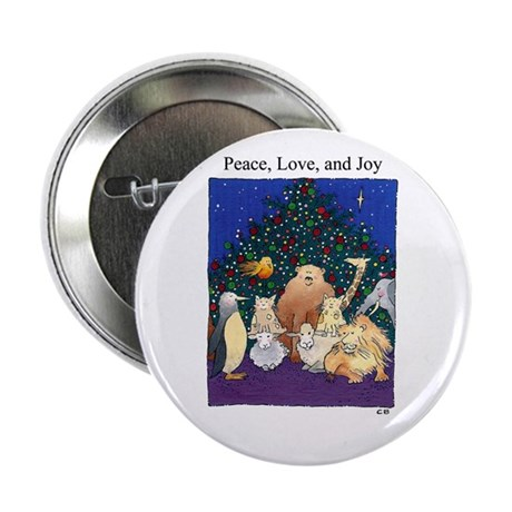 Cynthia Bainton Holiday Critters Button