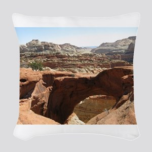 capitol reef Woven Throw Pillow