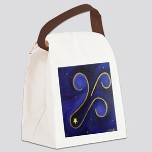 Shooting Star 2 Canvas Lunch Bag