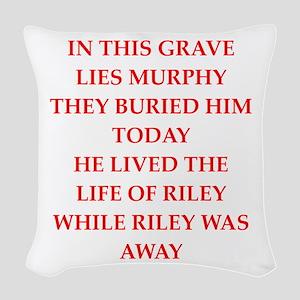 murphy Woven Throw Pillow