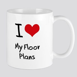 I Love My Floor Plans Mug