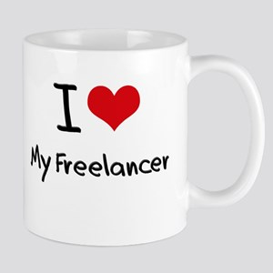 I Love My Freelancer Mug