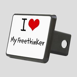 I Love My Freethinker Hitch Cover