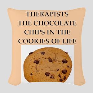 therapist Woven Throw Pillow