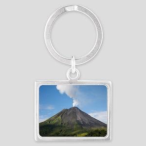 Arenal Volcano In Costa Rica Landscape Keychain