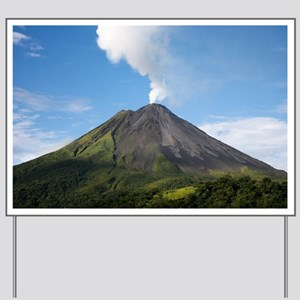 Arenal Volcano In Costa Rica Yard Sign