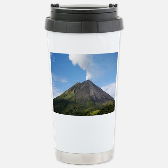 Arenal Volcano In Costa Rica Stainless Steel Trave