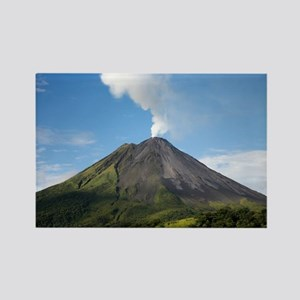 Arenal Volcano In Costa Rica Rectangle Magnet