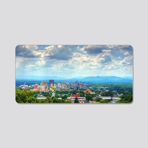 Asheville, North Carolina s Aluminum License Plate