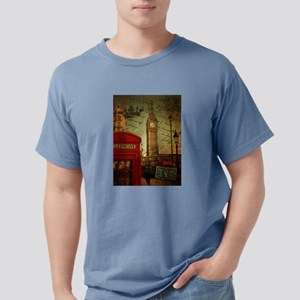vintage London UK fashio Mens Comfort Colors Shirt