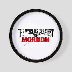 """The World's Greatest Mormon"" Wall Clock"