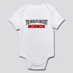 """The World's Greatest Mormon"" Infant Bodysuit"