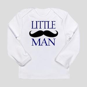 Little Man Mustache Long Sleeve T-Shirt
