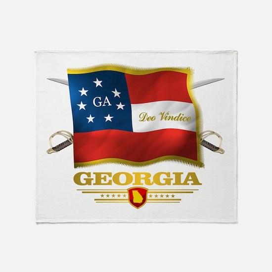 Georgia -Deo Vindice Throw Blanket