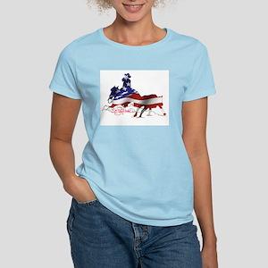Stars & Stripes Cutting horse Women's T-Shirt