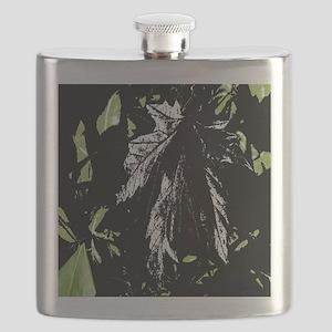 Leaf Curtain Flask