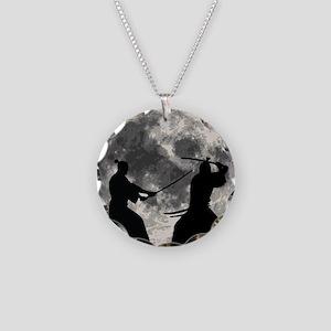 Samurai Moon Necklace