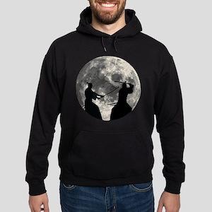 Samurai Moon Hoodie