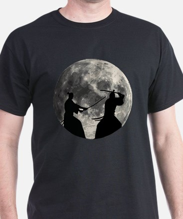 Samurai Moon T-Shirt