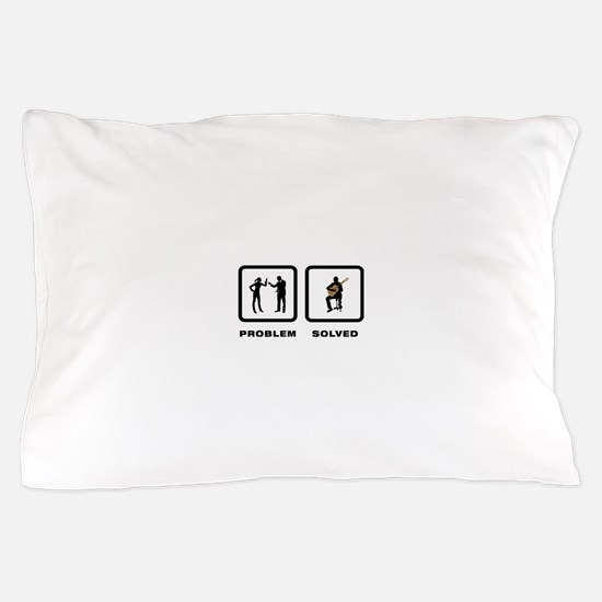 Classical Guitar Pillow Case