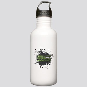 Jujitsu Inspirational Splatter Water Bottle