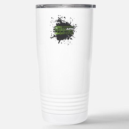 Jujitsu Inspirational Splatter Travel Mug