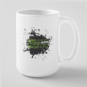 Jujitsu Inspirational Splatter Mug