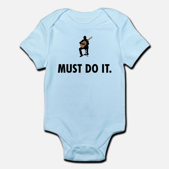 Classical Guitar Infant Bodysuit