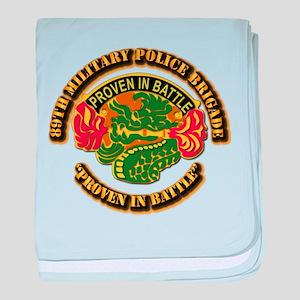 Army - DUI - 89th Military Police Brigade baby bla