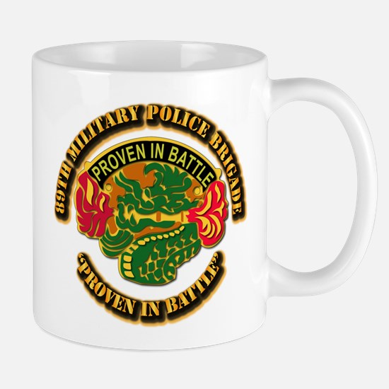 Army - DUI - 89th Military Police Brigade Mug