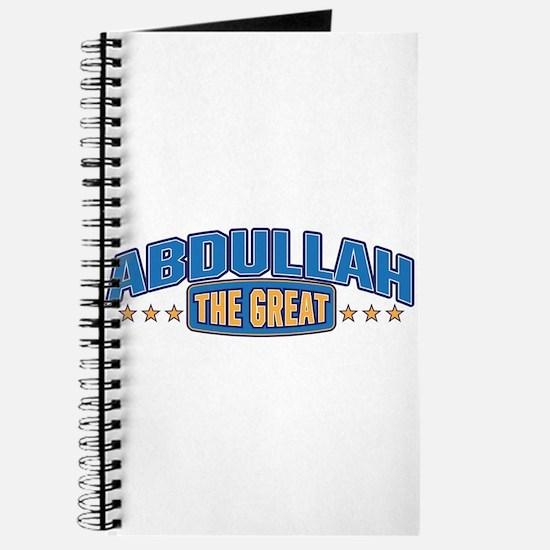 The Great Abdullah Journal