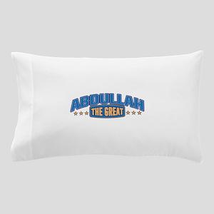 The Great Abdullah Pillow Case