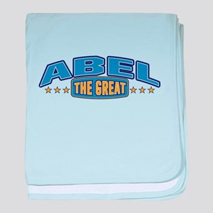 The Great Abel baby blanket