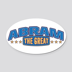 The Great Abram Oval Car Magnet