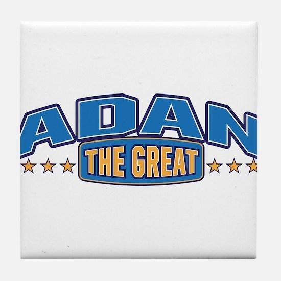 The Great Adan Tile Coaster