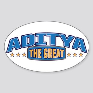 The Great Aditya Sticker