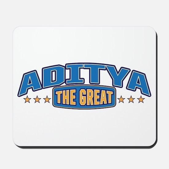 The Great Aditya Mousepad