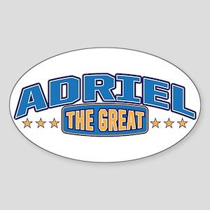 The Great Adriel Sticker