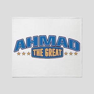 The Great Ahmad Throw Blanket
