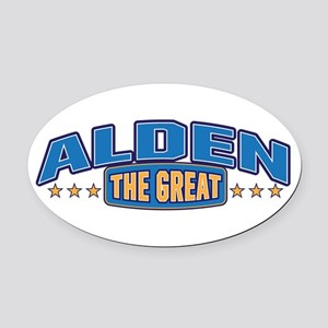 The Great Alden Oval Car Magnet