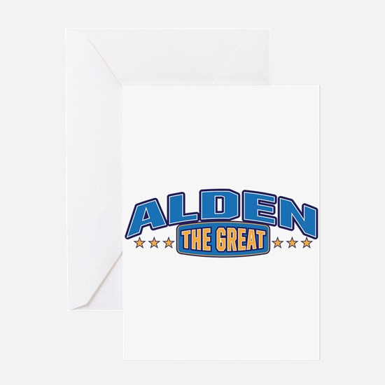 The Great Alden Greeting Card