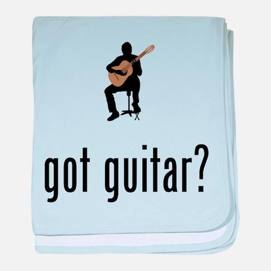Classical Guitar baby blanket