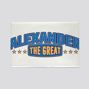 The Great Alexander Rectangle Magnet
