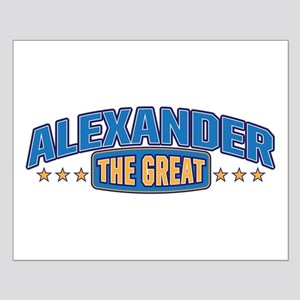 The Great Alexander Posters