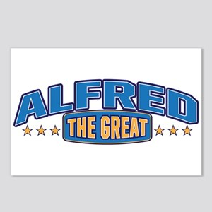 The Great Alfred Postcards (Package of 8)