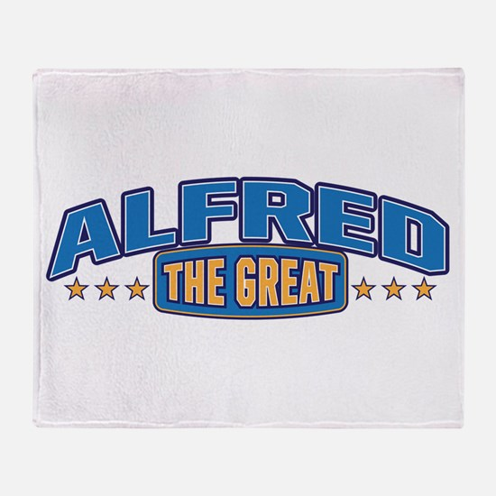 The Great Alfred Throw Blanket