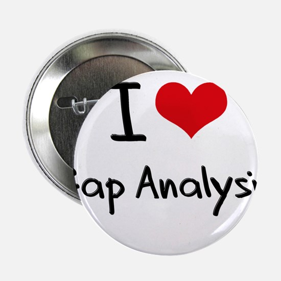 "I Love Gap Analysis 2.25"" Button"