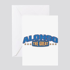 The Great Alonso Greeting Card